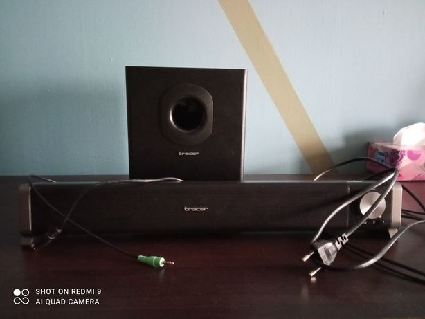 Tracer soundbar z subwooferem Bluetooth