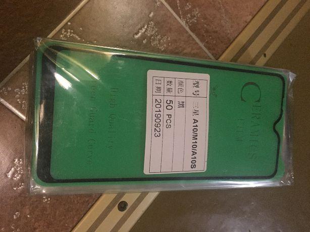 Защитные стекло/пленка на Samsung A10/M10/A10S/A30/M30/A30S/A50