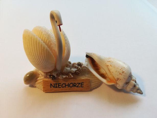 Figurka z muszli - łabędź