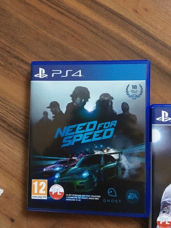 Gra need for speed (PS4)