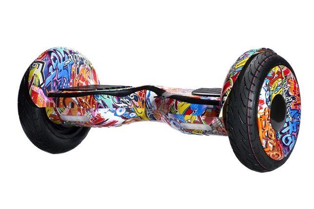 Гироборд 10.5д Hoverbot (Ховербот) гироскутер Оранжевый хип-хоп