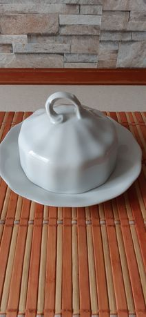 Maselniczka porcelanowa