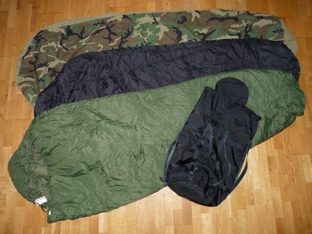 śpiwór modularny 4-part Modular Sleep System MSS US ARMY bivy cover