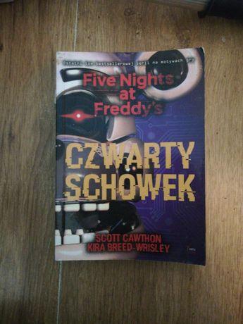 Książka Five Nights at Freddy's