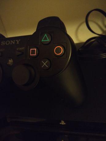 PlayStation 3+2 comandos+ Jogos
