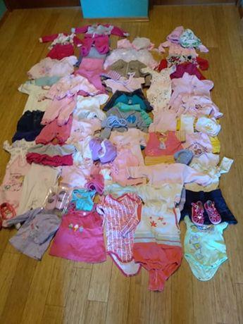 Ubranka dla dziewczynki 62-74