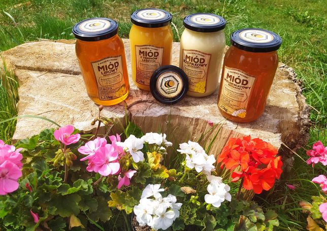Naturalny miód pszczeli   Pasieka Kruszewska Pszczółka