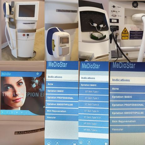 MEDIOSTAR NEXT PRO depilacja laserowa