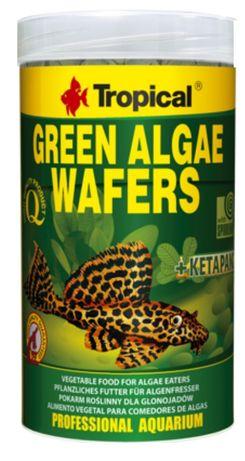 Tropical green algae waffers - pokarm dla ryb akwariowych - 50 sztuk