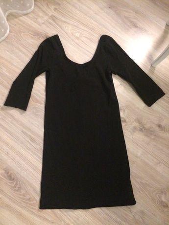 Czarna sukienka hm 36