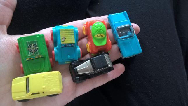 Лот игрушки из киндера (Kinder) машинки ретро серий, 90 годов