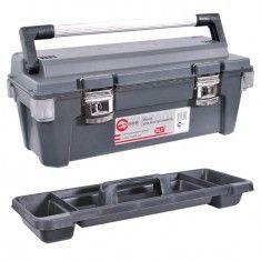 Ящик для инструмента метал замки 650x275x265 мм INTERTOOL BX-6025
