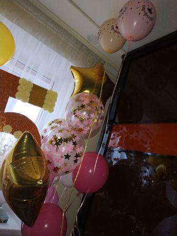 Кульки гелій та повітряні/ гелевые и воздушные шары