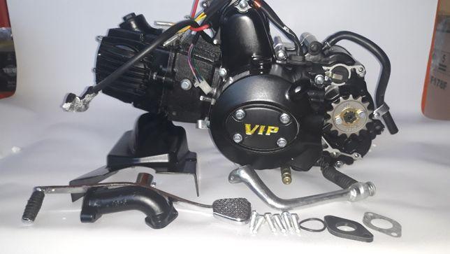 Двигатель 125 на мопед механика или полуавтомат Дельта ,Альфа, Актив