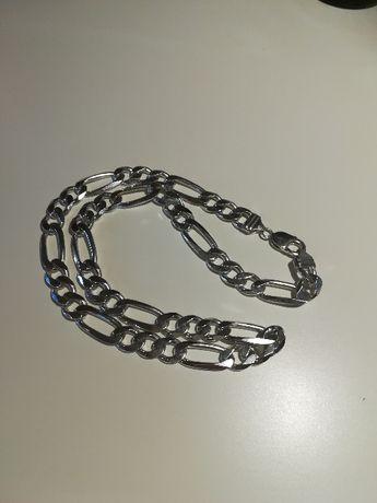 Srebrny męski łańcuch 87.9g srebro 925