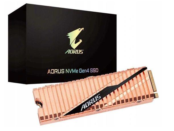 Dysk Gigabyte 1TB M.2 PCIe Gen4 NVMe AORUS SSD