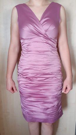 Sukienka marszczona 38