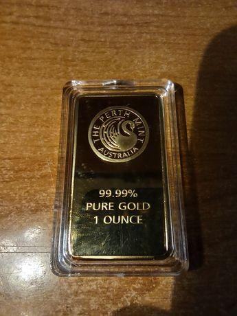 Replika sztabki złota Australia Perth Mint Kopia na Prezent rekwizy