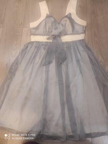 Piękna sukienka z tiulem, rozm. 38-40