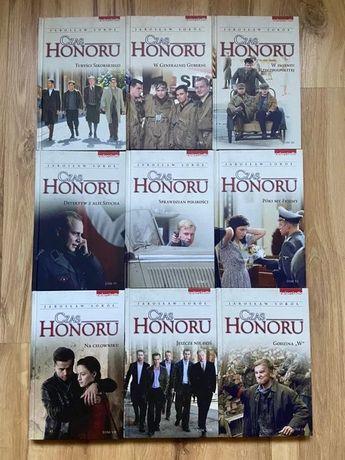 Czas honoru pakiet 9 książek serial TVP