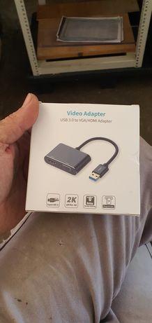 Adaptador VGA  HDMI USB