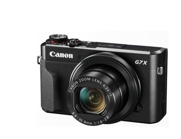 Цифровий фотоапарат cyfrowy Canon PowerShot G7 X Mark II