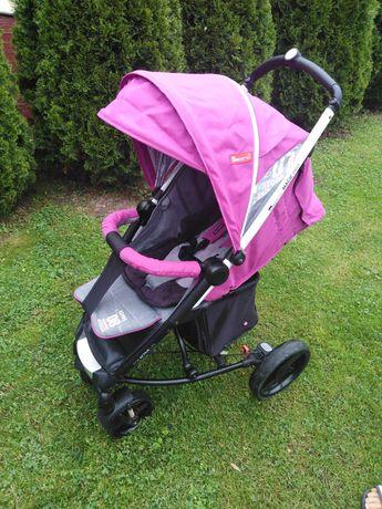 Wózek spacerowy dla dziewczynki Espiro Magic Pro