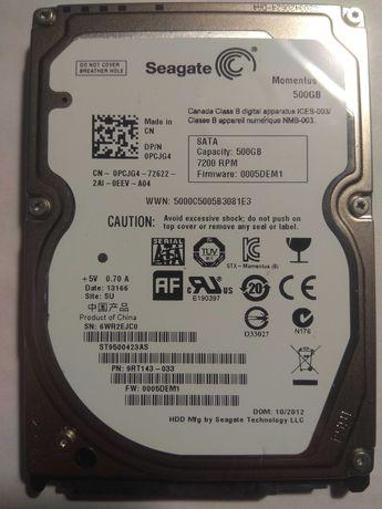 Жесткий диск Seagate 7200.4 500GB 7200 rpm 16MB ST9500423AS 2.5