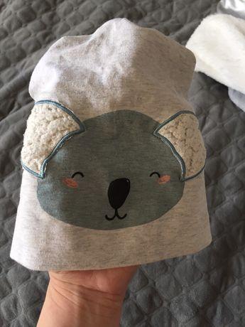Щапочка reserved 9-12m, шапка трикотажна на весну-літо) легенька