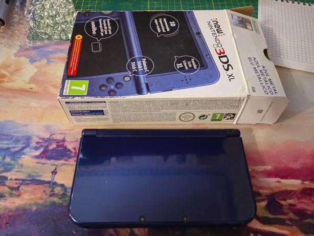 New Nintendo 3ds xl, прошитая, европейка, 16Гб, игры бесплатно