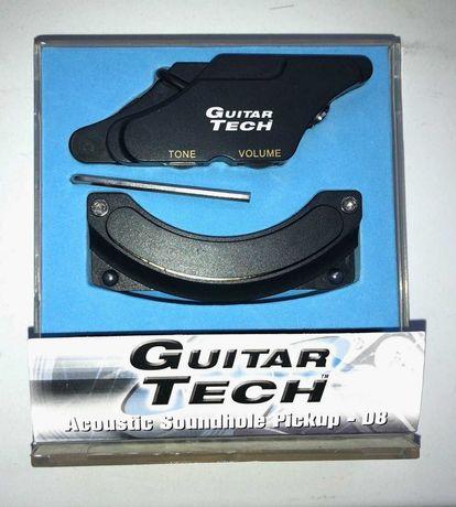 Звукосриматель для акустической гитары Guirar Tech