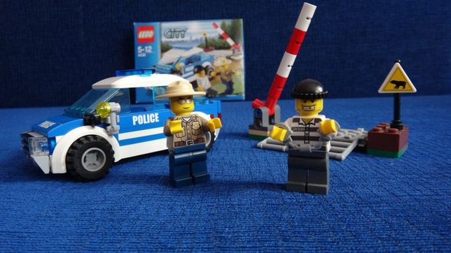 Lego City-wóz patrolowy PATROL CAR 4436