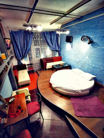 Посуточно Квартира №2, Приморский, 2 комнаты, кухня бар, бильярд, двор