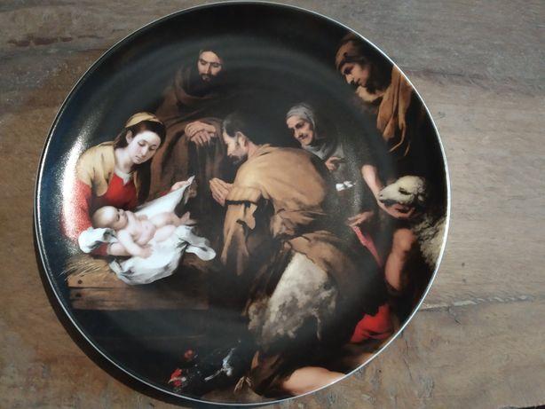 Prato novo Natal Vista Alegre VA edição limitada Raro