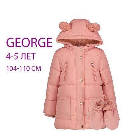 Зимняя куртка George на 4 - 5 лет, рост 104 - 110 см
