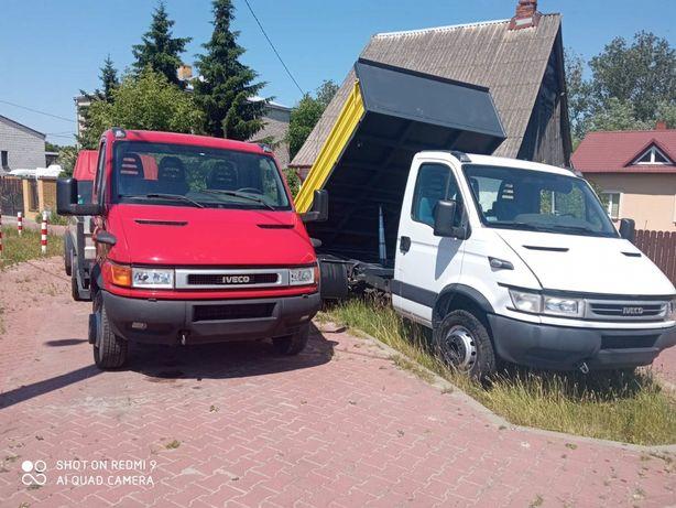 Iveco Daily 65C15 Wywrotka, Kiper,  różne zabudowy, ramy