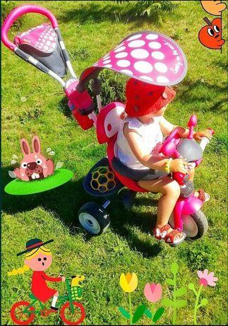 Продам классный трехколесный велосипед Smoby!