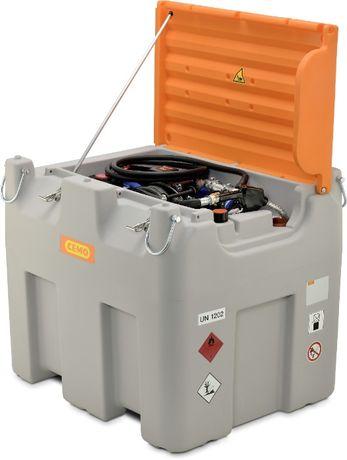 Zbiornik mobilny, przewoźny CEMO - COMBI (ON i Adblue) 850l /100l