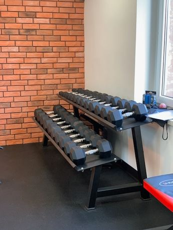 Nowy Zestaw hantli Hex od 2.5  kg.do 25 kg.