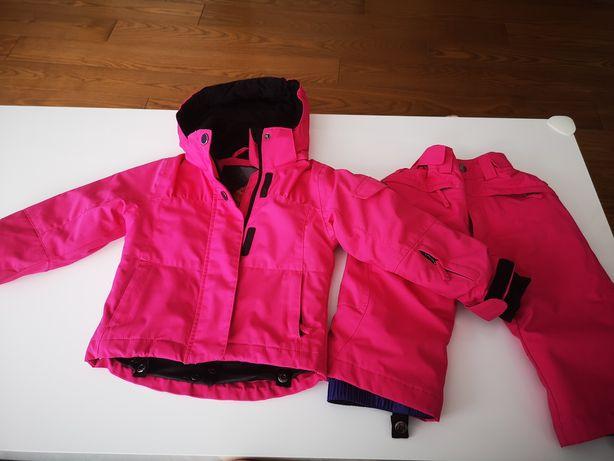 Kombinezon zimowy, kurtka zimowa i spodnie na śnieg 92, narty