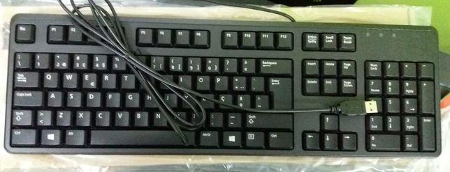 Teclado Dell- USB- Novo