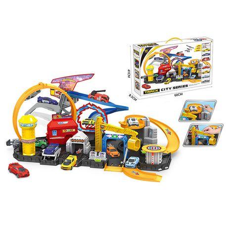 Детский игровой паркинг A-Toys P884-A с машинками