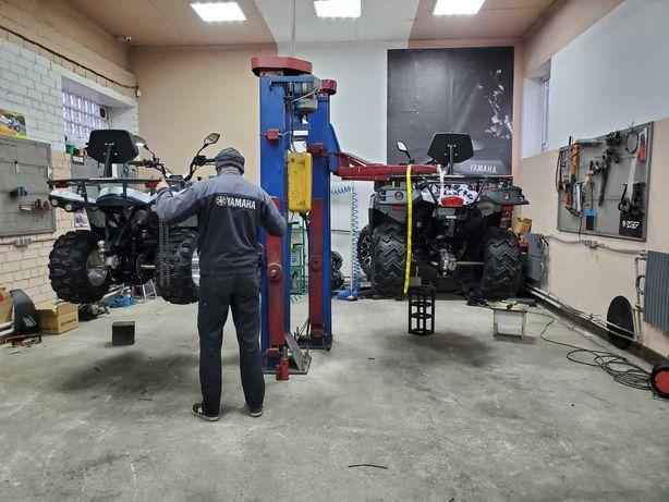 Мото сто , ремонт мотоциклов , сервис квадроциклов