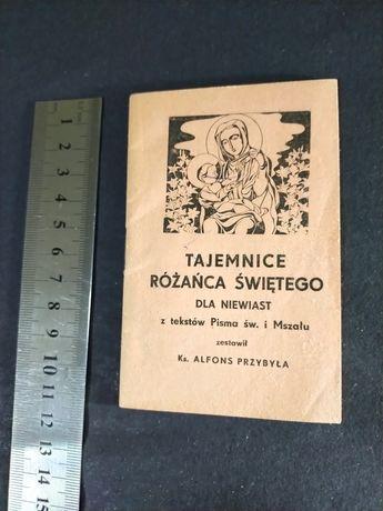 Tajemnice Różańca Świętego dla Niewiast 1939r kolekcjonerski