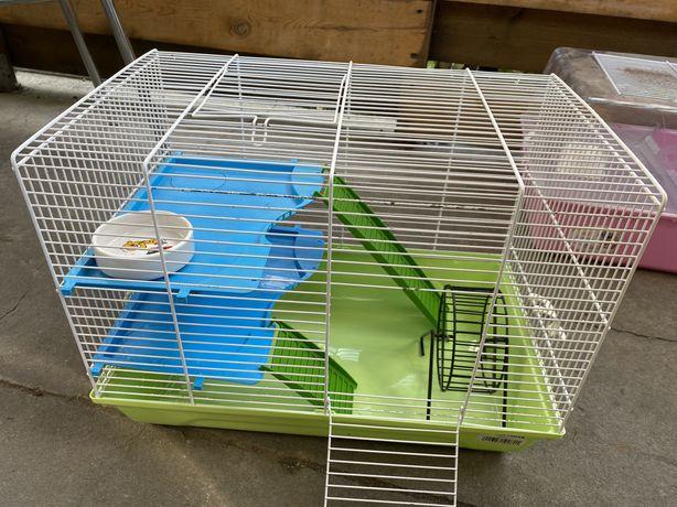 Klatka dla gryzonia myszy / chomika