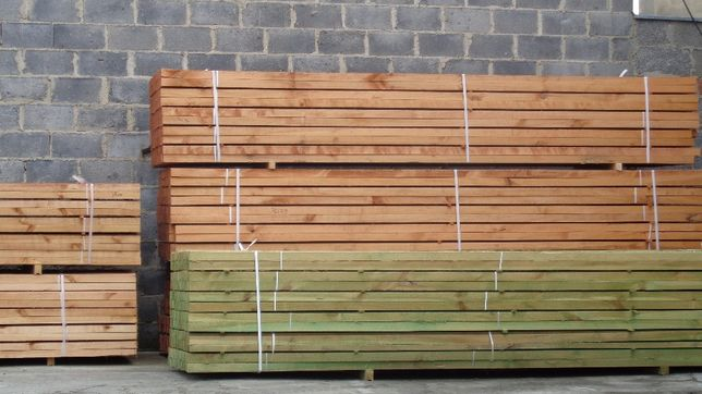 Łaty dachowe konfekcjonowane 40x50 mm impregnowana 4,00 mb