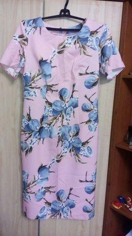 Платье миди.  52