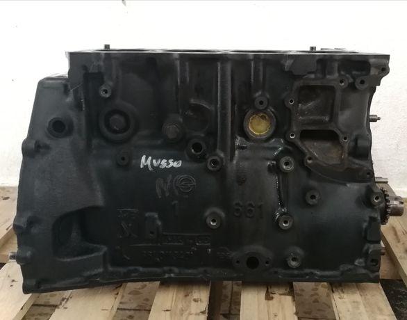 bloco motor ssangyong musso korando 661920