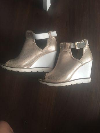 Buty skórzane rozm 39