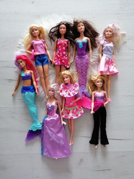 Duży zestaw lalek barbie